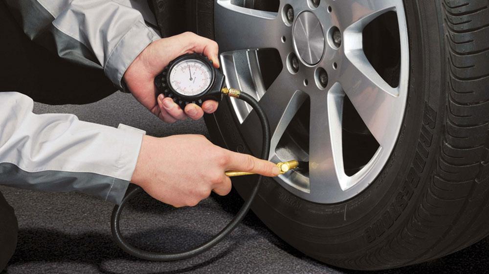Hãy kiểm tra kỹ tình trạng lốp trước khi đi