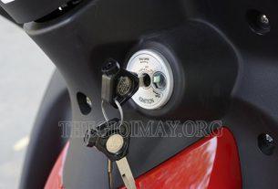 Ổ khóa xe máy bị kẹt do nhiều nguyên nhân khác nhau