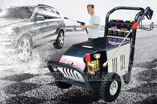 Điều chỉnh béc phun máy rửa xe cao áp phù hợp với yêu cầu công việc