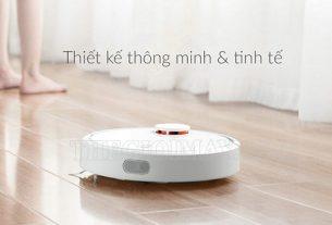 Máy hút bụi Xiaomi Gen 2 sở hữu thiết kế gọn gàng, thông minh