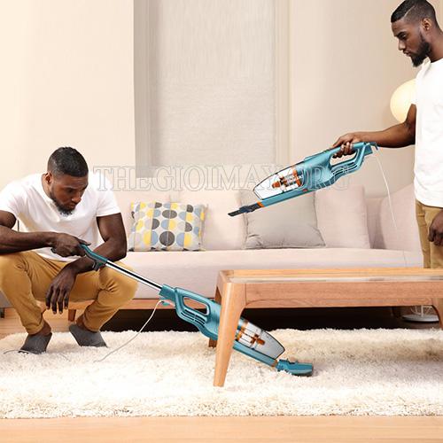 Máy hút bụi Deerma được sử dụng để làm sạch mọi không gian trong nhà ở