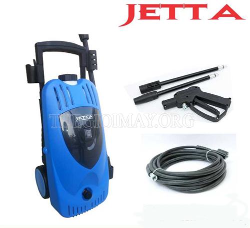 Bộ phụ kiện đầy đủ cho máy rửa xe Jetta có khả năng phun rửa mạnh mẽ