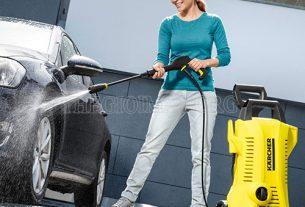 Máy rửa xe Karcher cho khả năng xịt rửa hiệu quả