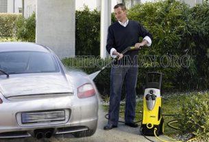 Mua máy rửa xe giá rẻ phục vụ cho quá trình xịt rửa xe
