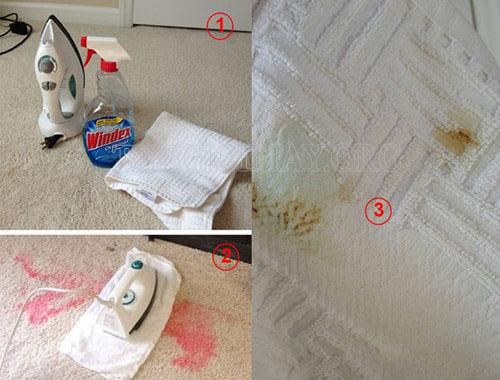 Giặt thảm tại nhà vô cùng hiệu quả với các nguyên liệu tự nhiên