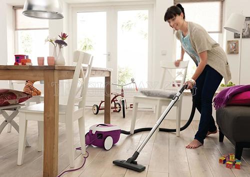 Máy hút bụi gia đình giúp ngôi nhà trở nên sạch sẽ
