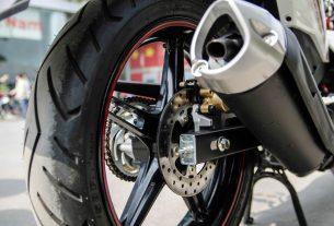 Lốp xe không săm sử dụng cho dòng phân khối lớn