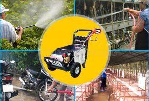 Ứng dụng máy phun rửa xe Palada trong đời sống