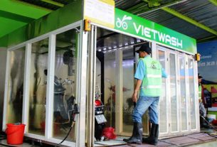 Hệ thống rửa xe tự động VietWash
