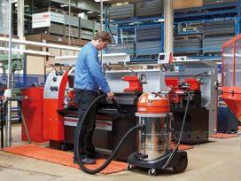 Ứng dụng máy hút bụi công suất lớn trong vệ sinh nhà xưởng