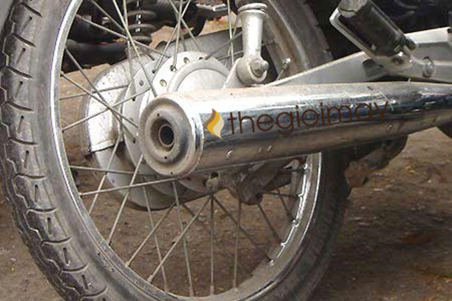Chất liệu được sử dụng để làm ống pô xe máy