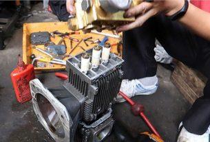 Khi máy rửa xe bị rung, giật cần làm gì?