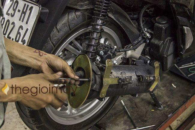 Sửa chữa ống pô xe máy khi gặp sự cố