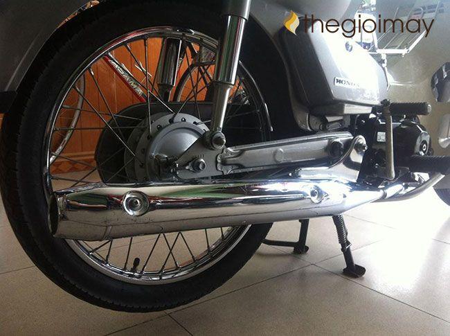 Vai trò của ống pô xe máy