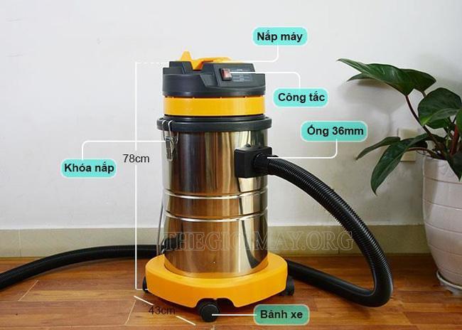 Một số sai lầm trong quá trình sử dụng máy hút bụi công nghiệp