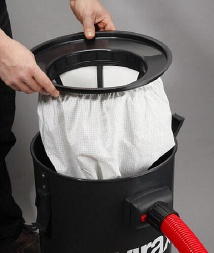 Túi lọc bụi bị bẩn là nguyên nhân chính khiến máy hút bụi kêu to