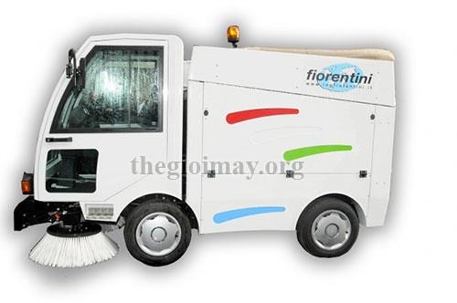 Tránh để máy quét rác Fiorentini ở nơi ẩm ướt