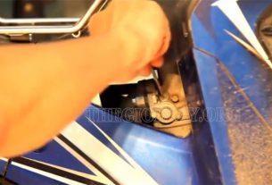 Xác định vị trí của vít điều chỉnh xăng và điều chỉnh gió