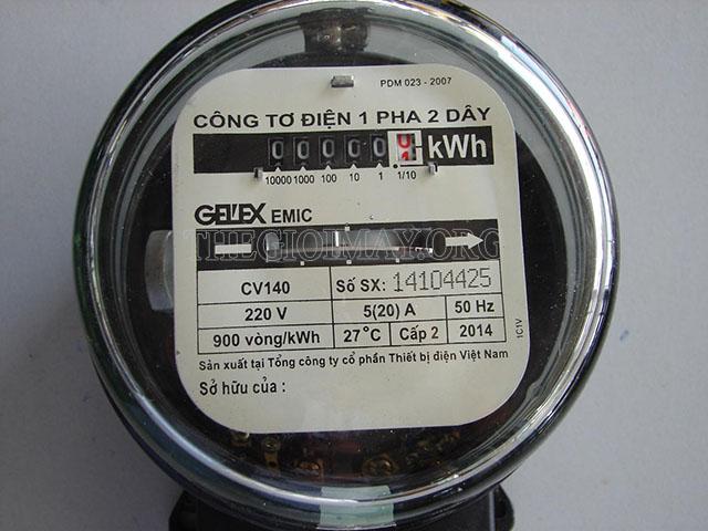 Đồng hồ đo điện năng tiêu thụ