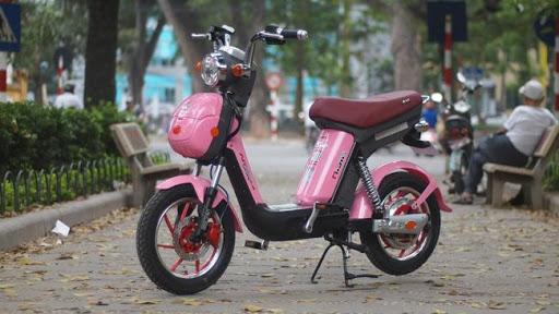 Xe đạp điện có thiết kế nhỏ gọn