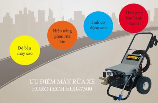 Hàng loạt các ưu điểm của Eurotech EUR-7500