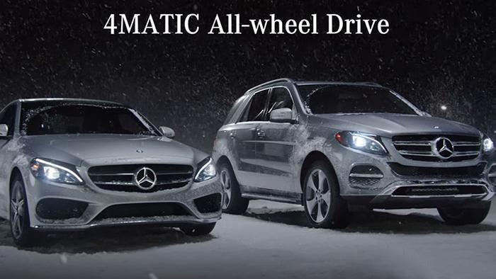 Hệ thống 4Matic trên dòng xe Mercedes