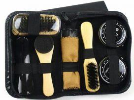 bộ dụng cụ đánh giày 7 món