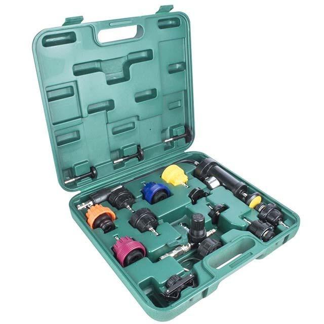 Chuẩn bị dụng cụ kiểm tra áp suất két nước
