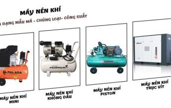 Lựa chọn những đơn vị cung ứng đa dạng các dòng máy nén khí