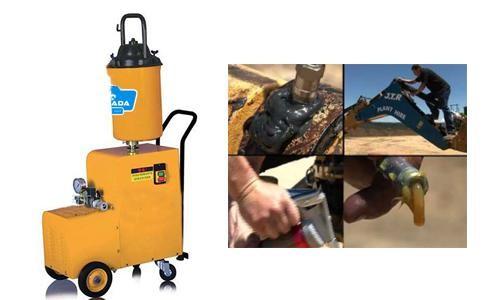 Thiết bị bơm mỡ bằng điện luôn đảm bảo được khả năng làm việc ổn định