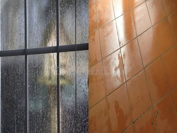 Sàn nhà ẩm ướt do đâu?