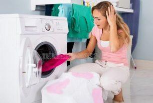 cách làm sạch áo bị dính màu