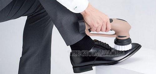 máy đánh giày cầm tay sạc điện
