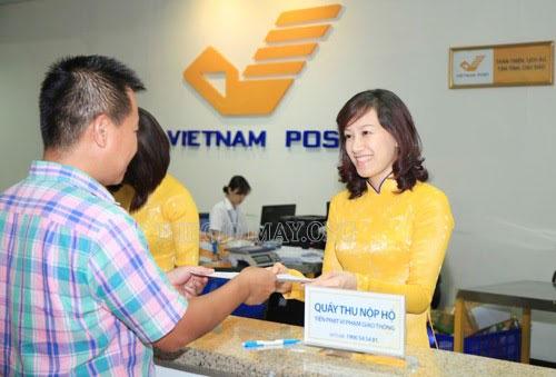 đăng ký nộp phạt giao thông qua bưu điện
