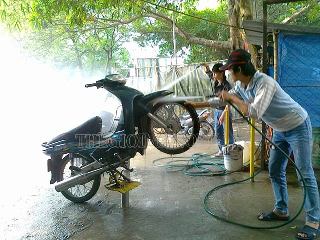 dụng cụ cần thiết khi mở tiệm rửa xe