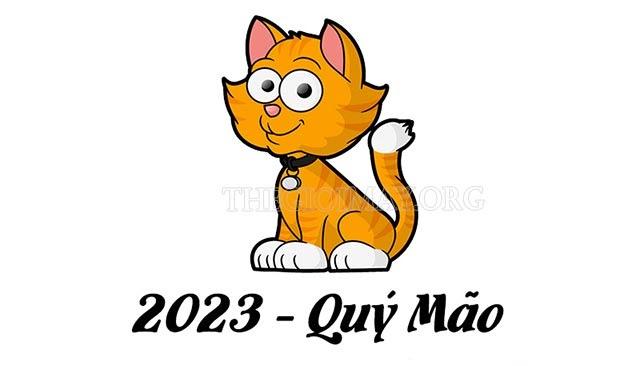 Năm 2023 là năm con gì? nên sinh con không