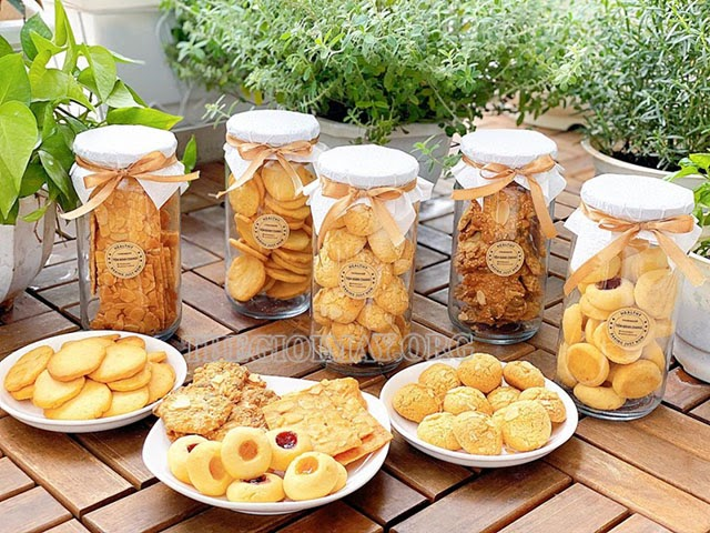 bánh quy tự làm