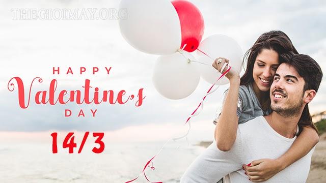 ngày valentine trắng