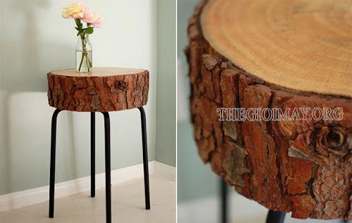 bàn gỗ tự làm