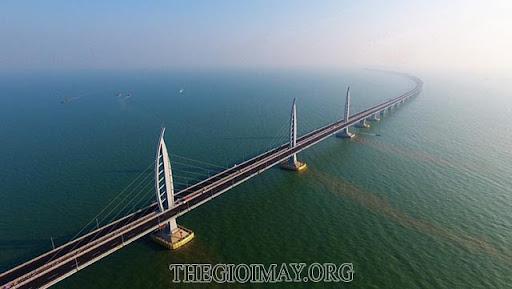 Cầu nối Hong Kong - Vũ Hải - Macao