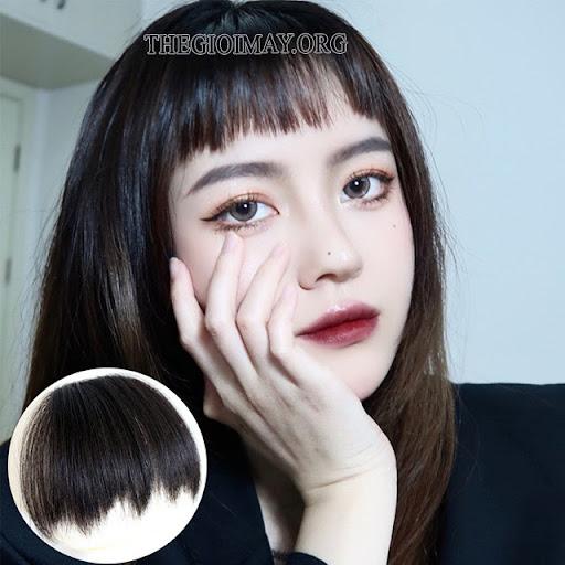 mặt tròn để tóc gì